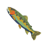 Breath of the Wild Fish (Trout) Voltfin Trout (Icon)