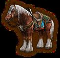 Hyrule Warriors Horse Epona (Level 1 Horse)
