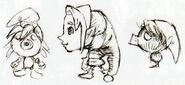 MM - Link Deku usando la máscara de Link