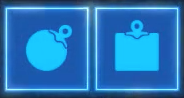 The Remote Bomb icons in Breath of the Wild
