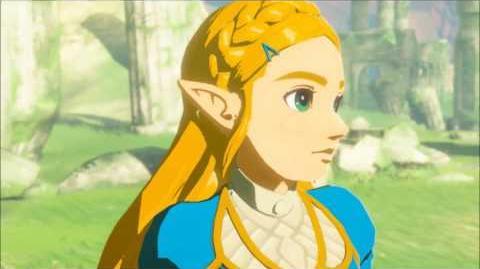 The Legend of Zelda Breath of the Wild - Zelda´s Zorn Erinnerung Cutscene (Nr