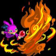 A Link Between Worlds Ravio Fire Rod (Artwork)