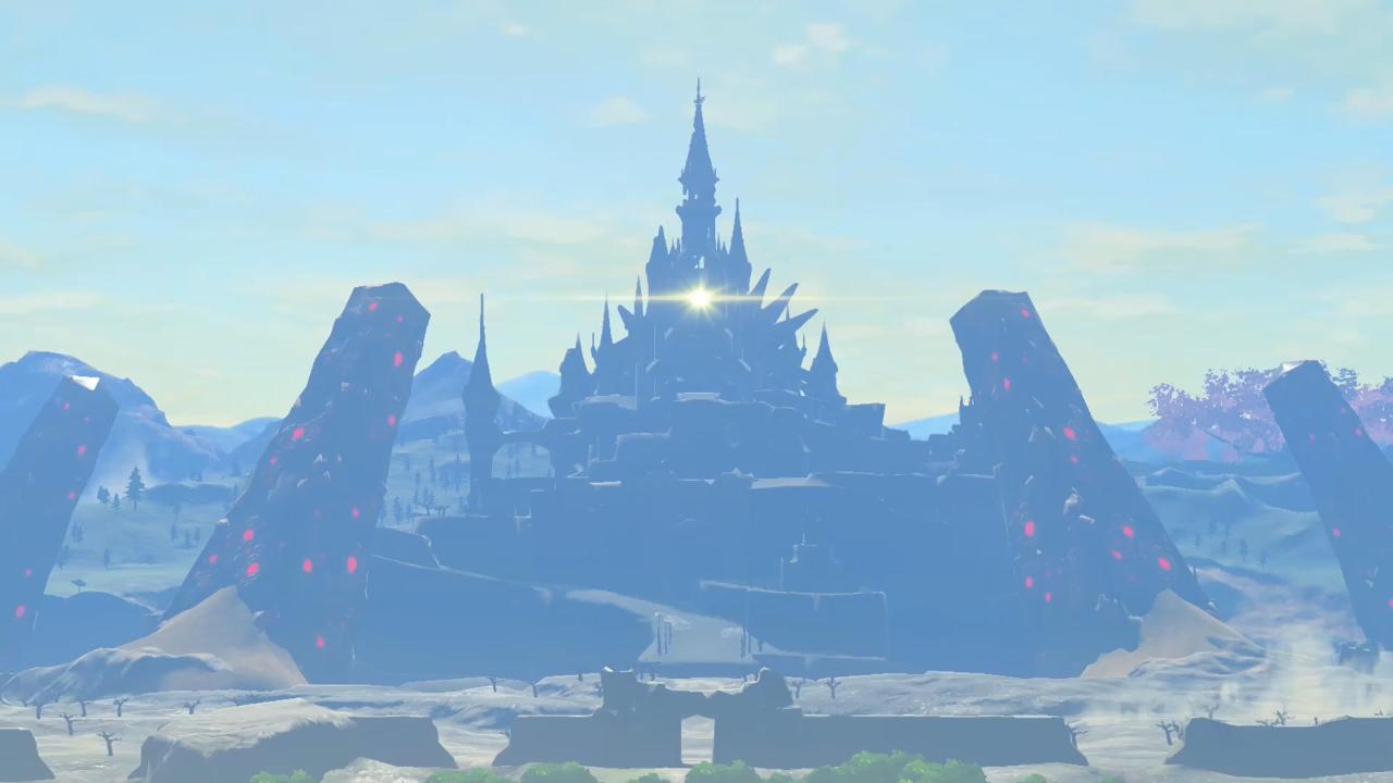 Hyrule Castle Breath Of The Wild Zeldapedia Fandom