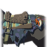 Breath of the Wild Key Items (Monster Horse Gear) Monster Saddle (Icon)