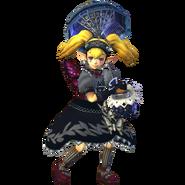 Hyrule Warriors Agitha Standard Outfit (Black Lolita Recolor - Master Quest DLC)