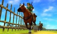 Course à cheval OoT3D