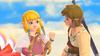 Zelda, Link, Célestrier