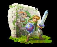 Nintendo, LBW, Artwork, Charakter, Link