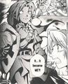Link Oscuro en el Manga de Ocarina of Time