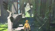 BotW Efigie de la Diosa Templo del Tiempo