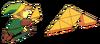Link Triforce LoZ