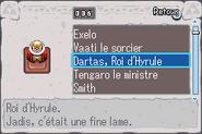 Dartas, Roi d'Hyrule TMC