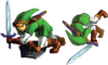 Link roulade OoT