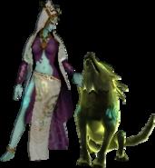 Hyrule Warriors Legends Twili Midna Standard Outfit (Great Sea - Twilight Princess Zelda Recolor)