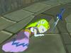 Zelda assommée TWW