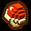 Hyrule Warriors Shackle 8-Bit Red Ring (8-bit Shackle)