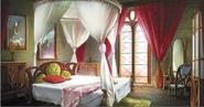 Hyrule Warriors Locations Zelda's Room (Concept Art)