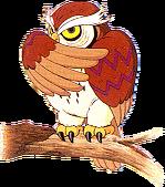Owl Artwork (Link's Awakening)