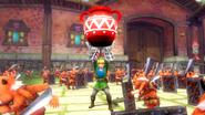 Link usando guantes de poder HW 2