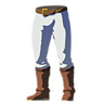 Breath of the Wild amiibo Rune Items (Hero of Wind Armor Set) Trousers of the Wind (Icon)