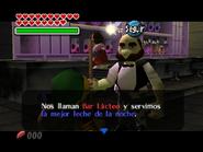 Link en el Bar Lacteo