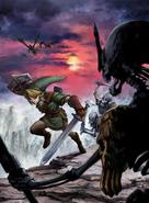 Link vs. Stalfos (Twilight Princess)