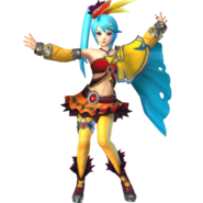Hyrule Warriors Lana Standard Outfit (Boss - King Dodongo Recolor)