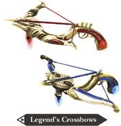 Hyrule Warriors Legends Crossbows Legend's Crossbows (Render)