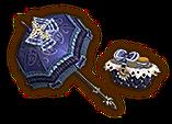 Hyrule Warriors Parasol Luna Parasol (Level 2 Parasol)