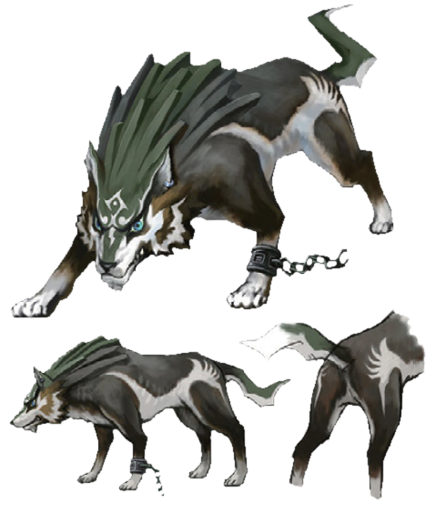Link Loup Hyrule Historia.png