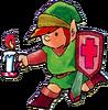 Dessin Link bougie LoZ