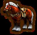 Hyrule Warriors Horse Epona of Time (Level 3 Horse)