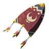 Breath of the Wild Rito Shield Kite Shield (Icon)