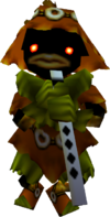A Skull Kid from Ocarina of Time