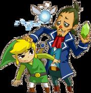 Link, Linebeck and Ciela