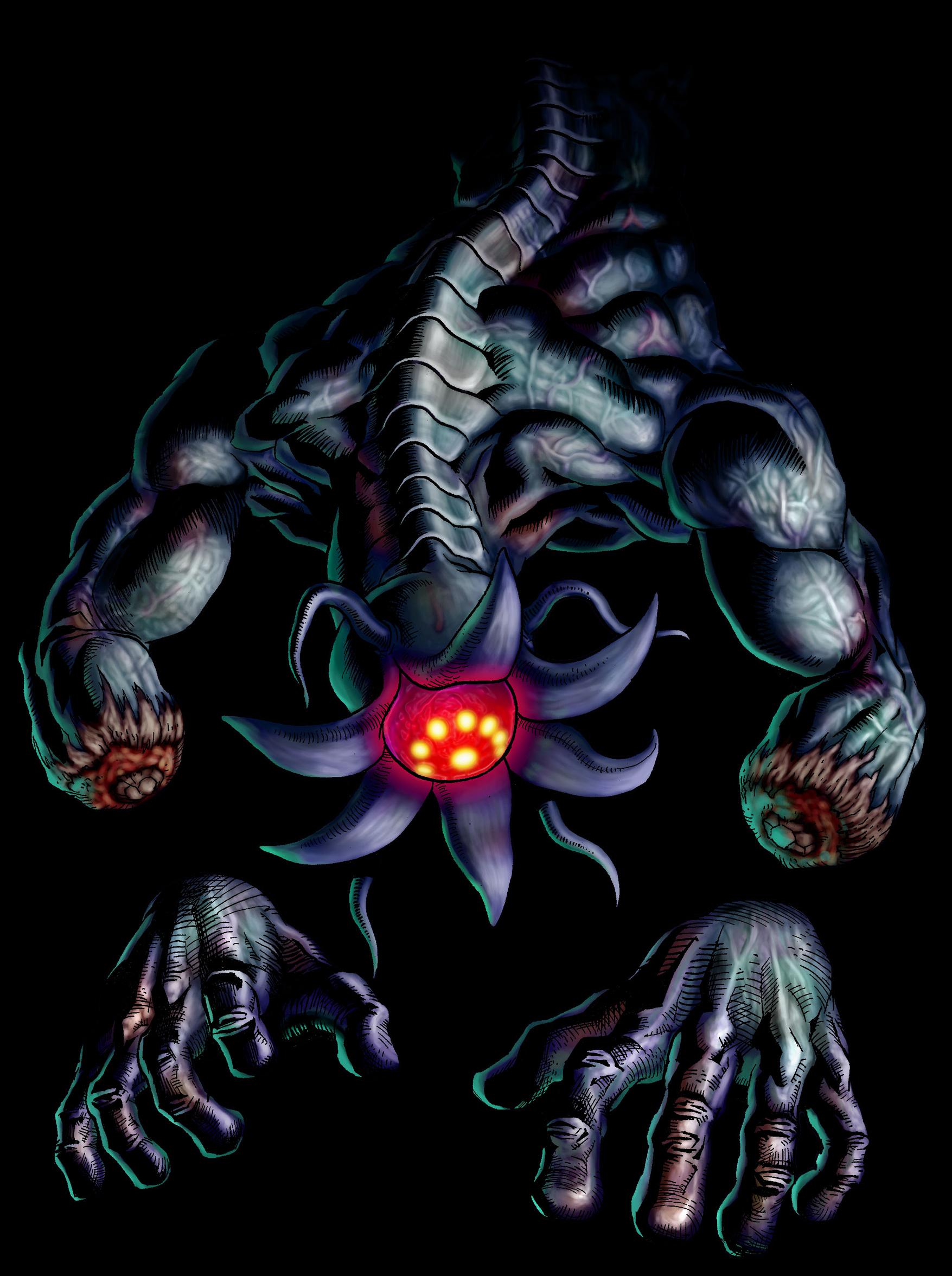 Bongo Bongo, Monstre de l'Ombre