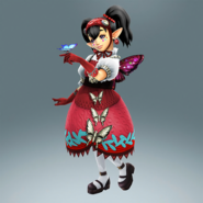Hyrule Warriors Legends Agitha Standard Outfit (Koholint Island - Crazy Tracy Recolor)