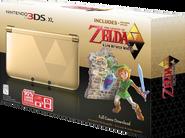 3DS XL Zelda Edition NTSC Box