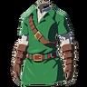 Breath of the Wild amiibo Rune Items (Hero of Time Armor) Tunic of Time (Icon)