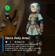 Breath of the Wild Fierce Deity Equipment (Body Armor) Fierce Deity Armor (Inventory)