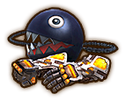 Hyrule Warriors Gauntlets Power Gloves & Bow-Wow