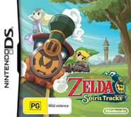 The Legend of Zelda - Spirit Tracks (Australian)