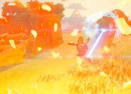Guardián Disparando Láser BotW