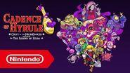 Cadence of Hyrule Crypt of the NecroDancer featuring The Legend of Zelda - Tráiler del E3 2019