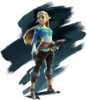 Princesse Zelda Artwork BOTW