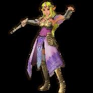 Hyrule Warriors Legends Princess Zelda Standard Robes (Great Sea - Toon Zelda Recolor)