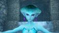 Hyrule Warriors Zora's Domain (King's Hall) Princess Ruto (Victory Cutscene)