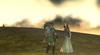Zelda et Link plaine d'Hyrule