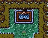 Link et la grande fée dans la forêt enchantée