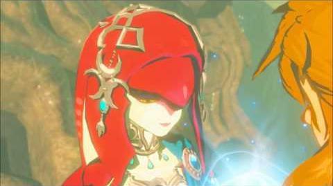 The Legend of Zelda Breath of the Wild - Mipha Erinnerung Cutscene (Nr